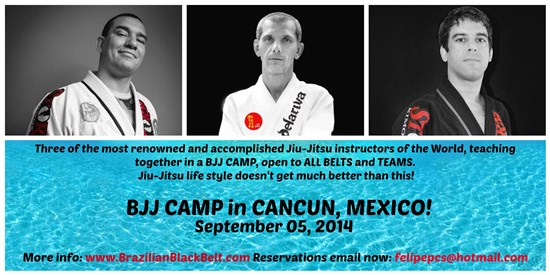 jiu jitsu camp cancun 2014