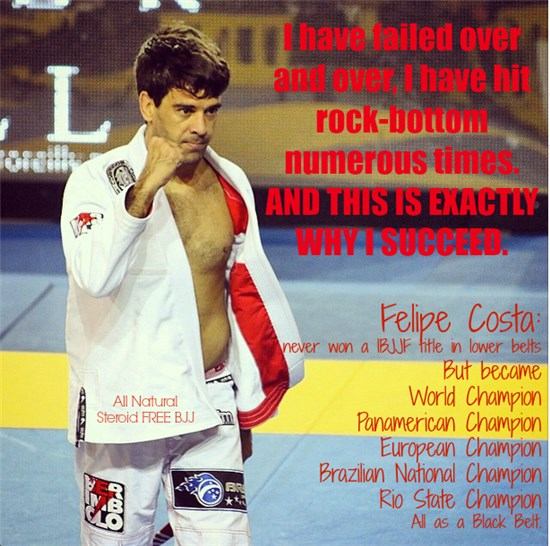 felipe costa motivational bjj meme